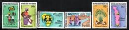 Togo 1979 Yvert 954-59, Children. Child International Year, Children's Villages - MNH - Togo (1960-...)