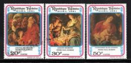 Togo 1981 Yvert 1059-61, Christmas. Art. Paintings By Rubens, Nativity Scenes - MNH - Togo (1960-...)