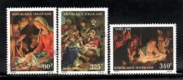 Togo 1995 Yvert 1387-89, Christmas. Art. Nativity Paintings - MNH - Togo (1960-...)