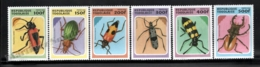 Togo 1996 Yvert 1445-50, Fauna. Insects, Coleoptera, Beetles - MNH - Togo (1960-...)