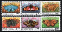 Togo 1999 Yvert 1688AU-88AZ, Fauna. Insects, Butterflies - MNH - Togo (1960-...)