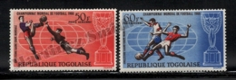 Togo 1966 Yvert Airmail 61-62, Sports. Football, England 66 FIFA World Cup - MNH - Togo (1960-...)