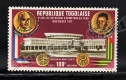 Togo 1972 Yvert Airmail 191, Politics. Famous People. Presidents Pompidou & Eyadema - MNH - Togo (1960-...)