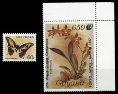 1986, Guyana, 1600 U.a., ** - Guyane (1966-...)