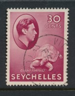 SEYCHELLES, 1938 30c Carmine Fine, Cat £11 - Seychelles (...-1976)