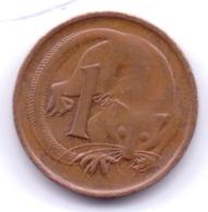 AUSTRALIA 1982: 1 Cent, KM 62 - Monnaie Décimale (1966-...)