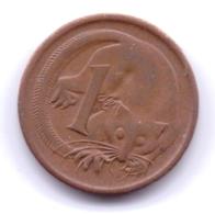AUSTRALIA 1971: 1 Cent, KM 62 - Monnaie Décimale (1966-...)