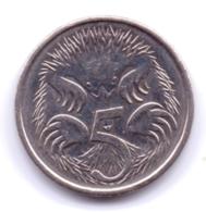 AUSTRALIA 2014: 5 Cents, KM 401 - Monnaie Décimale (1966-...)