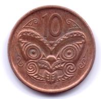 NEW ZEALAND 2013: 10 Cents, KM 117a - New Zealand