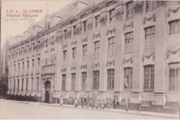Bd - Cpa SAINT OMER - Hôpital Militaire (ancien Collège Des Jésuites) - Saint Omer