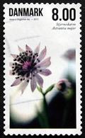 Denmark  2011  Flowers  MiNr.1656A( Lot L 3127) - Gebraucht