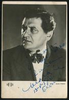 MILIVOJ ŽIVANOVIĆ - Yugoslavia, 1957. - Vintage  Photo With Original Autograph (LEMI2-10) - Fotografia