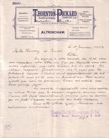 ROYAUME UNI - ALTRINCHAM - PHOTOGRAPHIE - THORNTON PICKARD - LETTRE - 1903 - United Kingdom