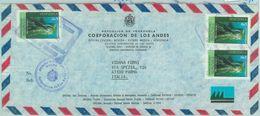 84318 -  VENEZUELA - POSTAL HISTORY -  AIRMAIL COVER To  ITALY 1980's - Venezuela