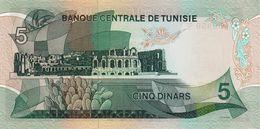 TUNISIA P. 68a 5 D 1972 UNC - Tunisia