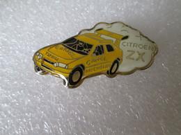 PIN'S   CITROEN  ZX  RALLYE RAID   Finition Epoxy - Citroën