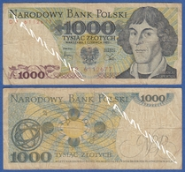 POLAND 1000 Zlotych 1982 MIKOLAJ KOPERNIK (COPERNICUS) And ATOMIC SYMBOLS - Poland
