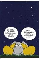 LE CHAT De Philippe Geluck : Qui Dort Dehors, Dîne Dîhîne, Invitation à L'expo De L'E.N.S. Des Beaux-Arts à Paris (2003) - Cómics