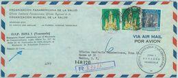 84320 -  VENEZUELA - POSTAL HISTORY - Registered  AIRMAIL COVER To MEXICO 1960 O.S.P. Zona 1 - Venezuela