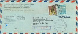 84321 -  VENEZUELA - POSTAL HISTORY - Registered  AIRMAIL COVER To MEXICO 1960 O.S.P. Zona 1 - Venezuela