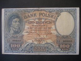 Polen- 100 Zloty 1919 S.A. 9086355 - Poland