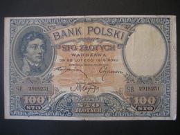 Polen- 100 Zloty 1919 S.B. 2918251 - Poland