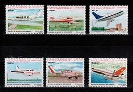 Mozambique - YV PA 46 à 51 N** Complete  , Histoire De L'aviation - Mosambik