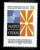 MACEDONIA  NORTH 2020,MACEDONIA IN NATO,MNH, - Mazedonien