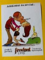 14384 -  TITEUF ZEP  Fendant 1995 Agréable En Bouche Cuvée à Fernand Librairie Apostrophes - Stripverhalen