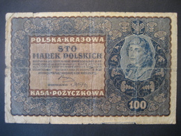 Polen- 100 Marek Polskich 1919 ID Serja J - Poland