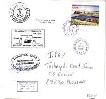 Enveloppe Marion Dufresne OP4 26/12/2019 - Franse Zuidelijke En Antarctische Gebieden (TAAF)