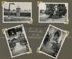 Lombeek, N.D, Chapelles Le Long De La Route. 4 Tirages Originaux D'époque. C 1935 FG1276 - Lieux