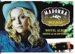 """MADONNA : Sortie En 2000 De Son Nouvel Album, """"Music"""". Photo De L'artiste Par Le Photographe J B MONDINO. - Cómics"""