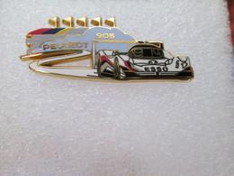 PIN'S   PEUGEOT  905  ESSO  LE MANS   Arthus Bertrand - Peugeot