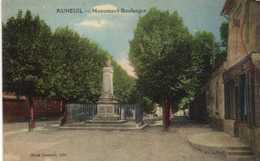 AUNEUIL  Monument Boulenger  Colorisée RV - Auneuil