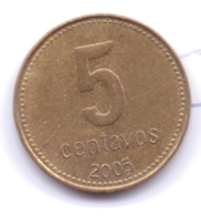 ARGENTINA 2005: 5 Centavos, KM 109 - Argentina