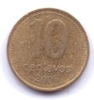ARGENTINA 2006: 10 Centavos, KM 107 - Argentine