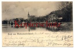 Woltersdorf 1903, Schleuse - Woltersdorf