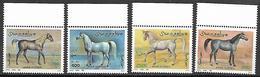 Somalia 1996 Arabian Horses  MNH - Somalia (1960-...)