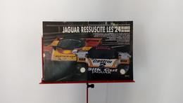 Ancienne Coupure De Presse Automobile De 1988 Jaguar Ressuscite Les 24 Heures Du Mans - Carreras De Carros