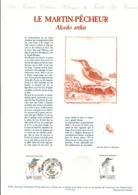 DOCUMENT FDC 1991 NATURE - LE MARTIN-PECHEUR - Documenten Van De Post