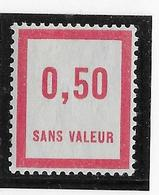 France Fictif N°12 - Neuf * Avec Charnière - TB - Finti