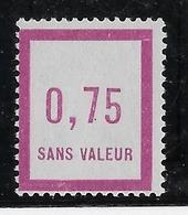 France Fictif N°14 - Neuf * Avec Charnière - TB - Finti