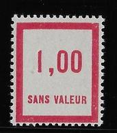 France Fictif N°49 - Neuf * Avec Charnière - TB - Finti