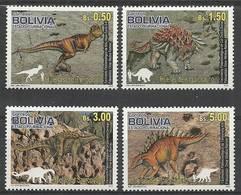 Bolivia 2012 Mi 1882-1885 MNH ( ZS3 BLV1882-1885all-(47A) ) - Stamps