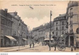 "54. N° 103596 .longwy .passage Du Dirigeable """"l Adjudant Vincenot"""" Le 22 Juillet 1913 . - Longwy"