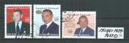 MAROKKO MICHEL 1429 - 1431 Gestempelt Siehe Scan - Marokko (1956-...)