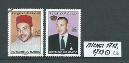 MAROKKO MICHEL 1712,1713 Gestempelt Siehe Scan - Marokko (1956-...)