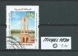 MAROKKO MICHEL 1828 Gestempelt Siehe Scan - Marokko (1956-...)