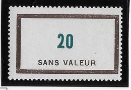 France Fictif N°110 - Neuf * Avec Charnière - TB - Finti